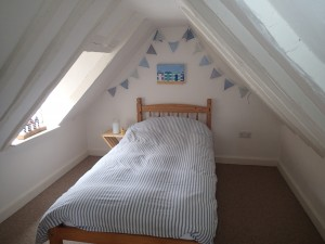 Attic Room 2 of holiday cottage