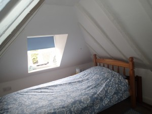 Attic room 1 of holiday cottage
