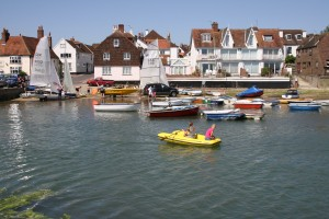Holiday Cottage by Emsworth slipway