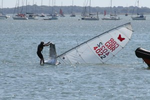 Capsize in Chichester Harbour