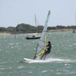Windsurfing at Emsworth